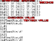 The Result will be a .txt file with a maximum of 17 values