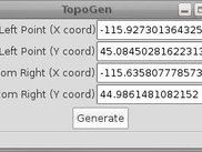 topogen 0.1 with example coordinates filled in