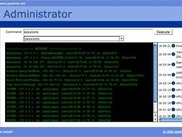 Web Based Server administration app