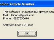 Trace Indian Vehicle Number