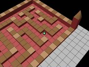 A simple maze level in a set of 6  suitable for children