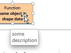 Mouse-Over Object on Diagram Displays Description