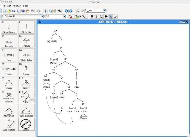Treeform Syntax Tree Drawing Software Download
