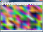 TripLight screenshot - diagonal pattern