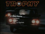 the menu of trophy