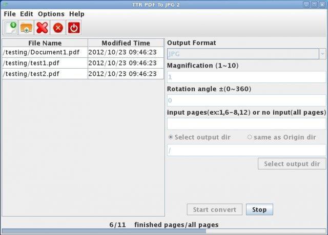 TTR PDF To JPG download | SourceForge net