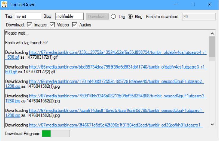 TumbleDown download | SourceForge net