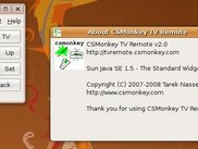 CSMonkey TV Remote without channels
