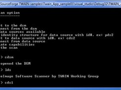 Scan using the command prompt.