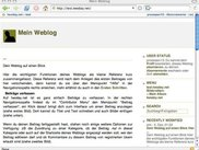 "startpage from the weblog ""test"""