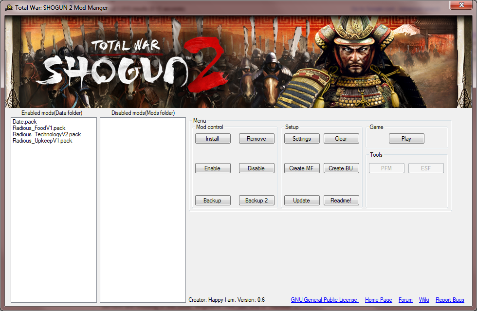 Total War: Shogun 2 Mod Manager download | SourceForge net