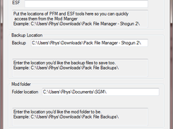 Total War: Shogun 2 Mod Manager download | SourceForge net