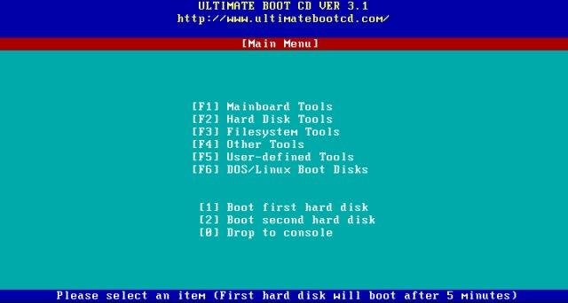 Ultimate Boot CD download | SourceForge net