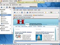 Screenshot courtesy of djwm at http://www.h-online.com