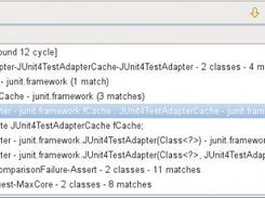 Class cycles found by UCDetector in JUnit
