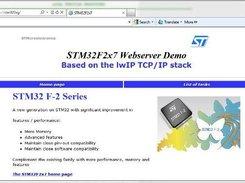 Stm32 Web Server