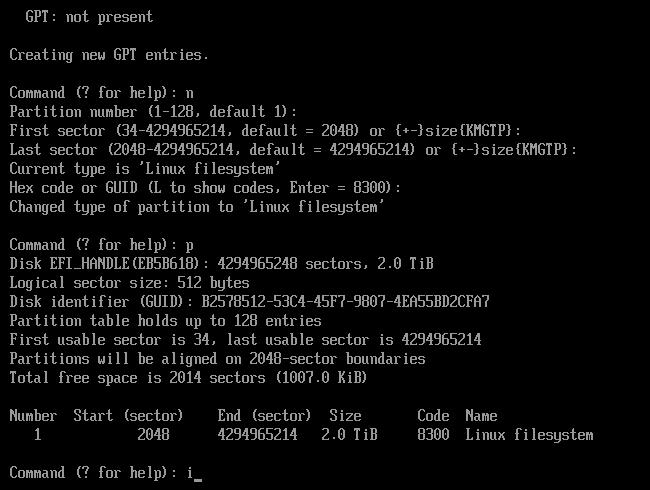 UEFI GPT fdisk download | SourceForge net