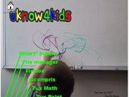 UKnow4Kids desktop with annotations