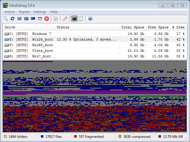 UltraDefrag download   SourceForge net