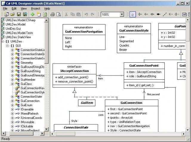 C uml designer download sourceforge uml designer main window with class diagram ccuart Images