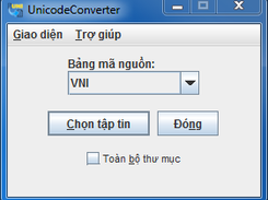 UnicodeConverter download | SourceForge net