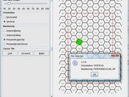 Hex map coordinate system model and rendering demo