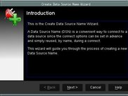 Create Data Source Name Wizard