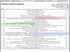 ISA - Interactive Sentence Alignment