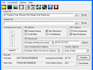 Quickly compress with all major functions in one window.