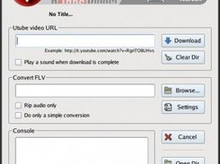 Utube Ripper 1.7 (QT) GUI Interface