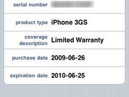 "The ""Device Details"" screen of uWarranty."
