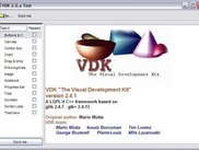 VDK test program running under Windows with Wimp theme