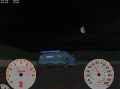 Driving at night - June 25, 2005 build