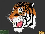 the traditional SVG tiger  (~11.000 vector elements)