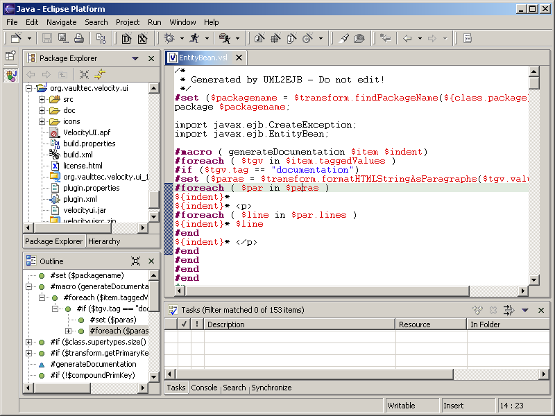 Velocity editor plugin for Eclipse download | SourceForge net