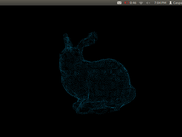A low resolution scan of the Stanford bunny (-A 50)
