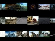 Multi-Video example: VideoMan playing 18 videos