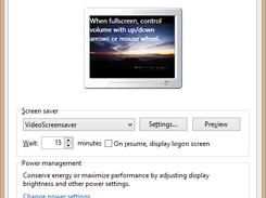 Video Screensaver download | SourceForge net