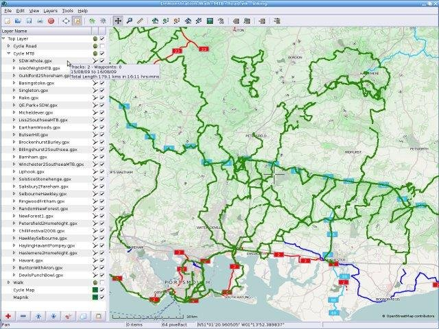 Viking gps data editor and analyzer download sourceforge cycle map osm with many mtb tracks in the south of the uk gumiabroncs Images