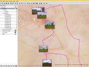 Geotagged Images (Size 128 + Alpha) + Stamen Watercolour Map