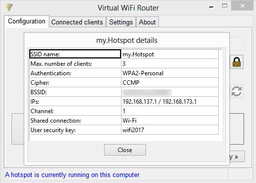Virtual WiFi download | SourceForge net