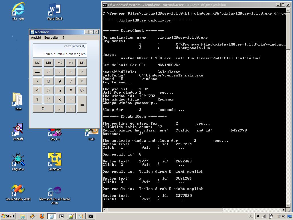 VirtualGUser download | SourceForge net