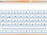 Keyboard Main Window Screenshot with Arabic Layout loaded
