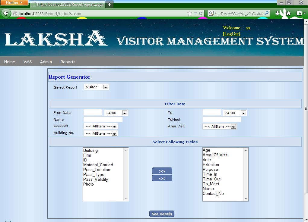 Visitor, Contractor, Employee Management download