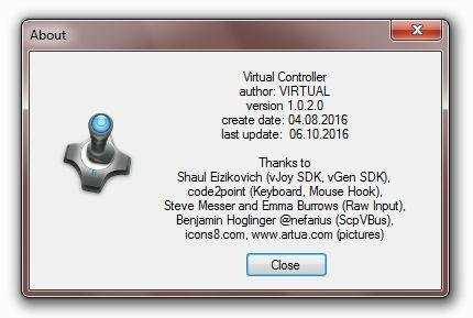 Virtual Controller download | SourceForge net