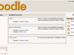 VL4Moodle in administration mode