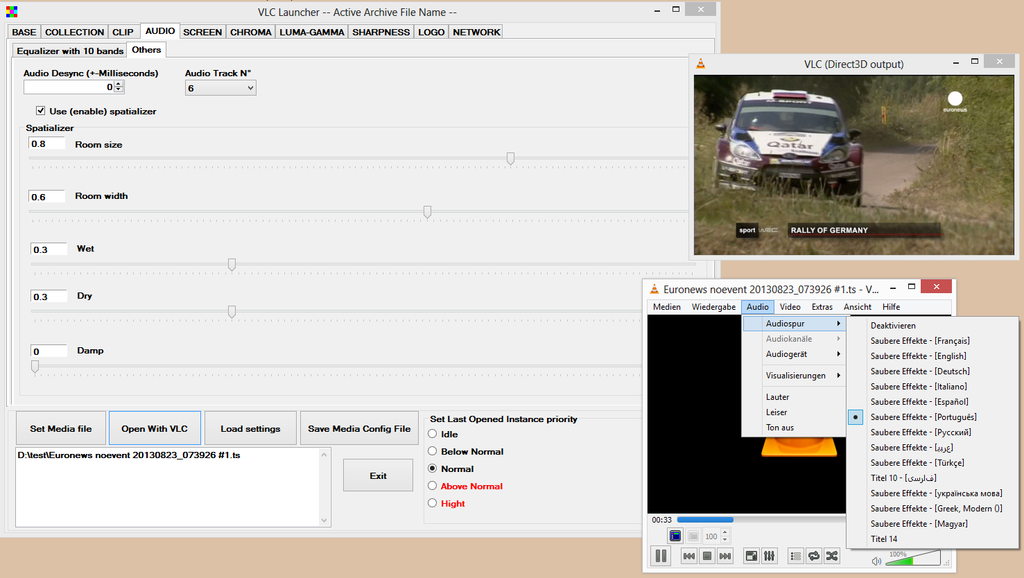 VLC Launcher download   SourceForge net
