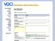 metadata editing page one