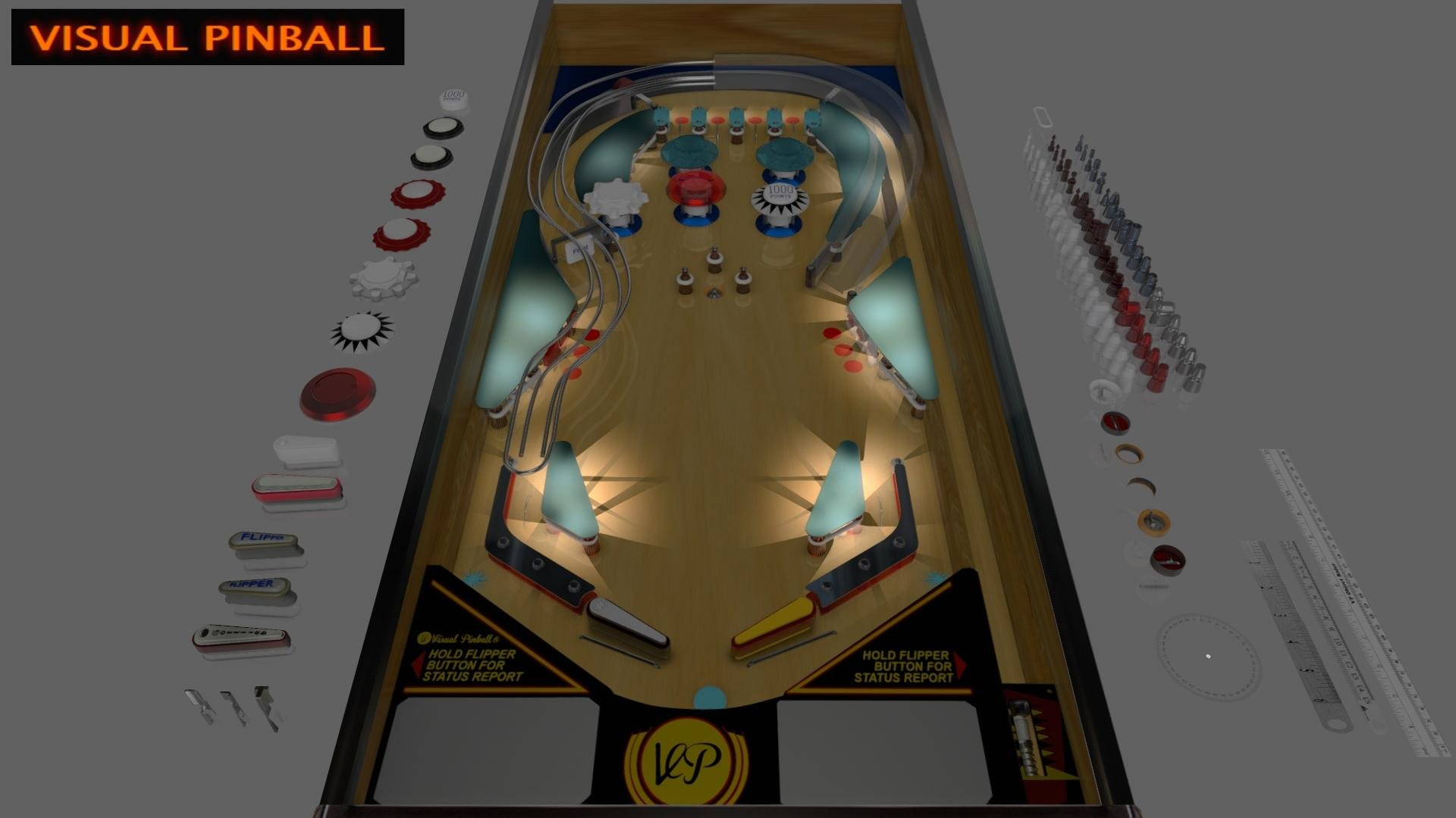 Visual Pinball download | SourceForge net