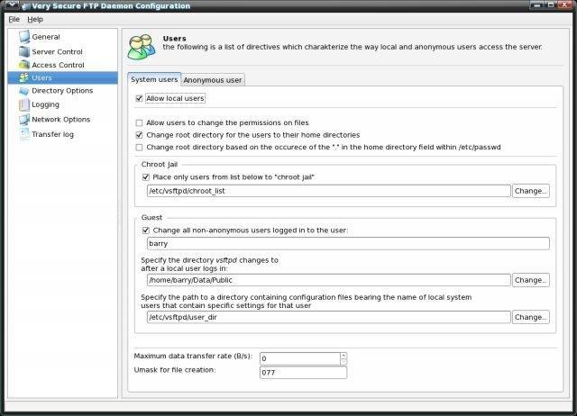 System-Config-Vsftpd download | SourceForge net